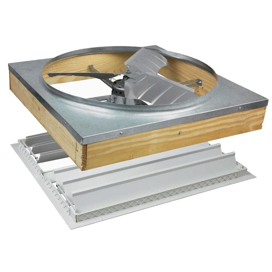 Air Vent 24-in Aluminum Whole House Fan