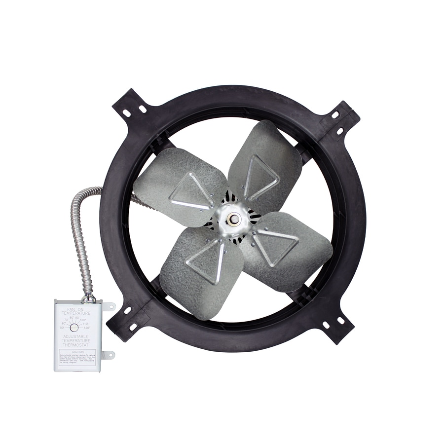 Air Vent 18-in Dia Electric Gable Vent Fan