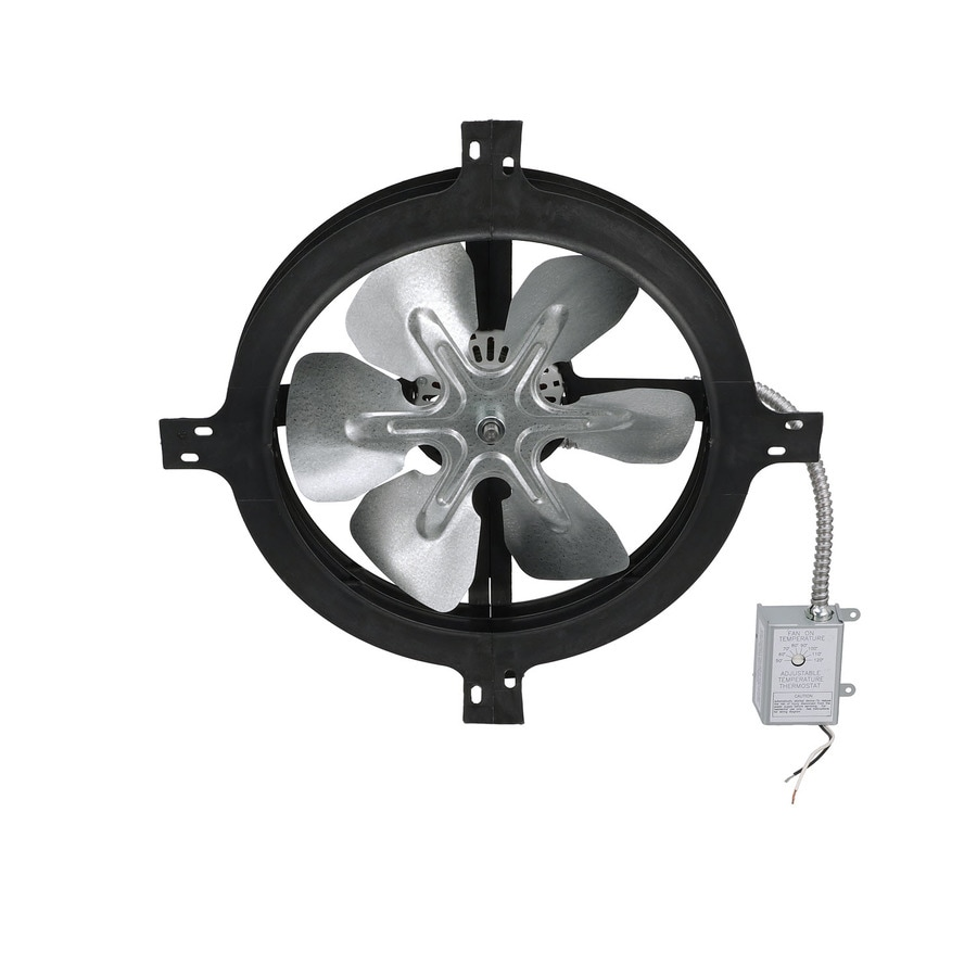 Air Vent 17.375-in Dia Electric Gable Vent Fan