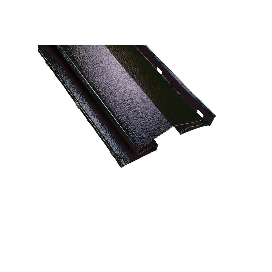 AIR VENT INC. 8.5-in x 96-in Black Aluminum Stick Roof Ridge Vent