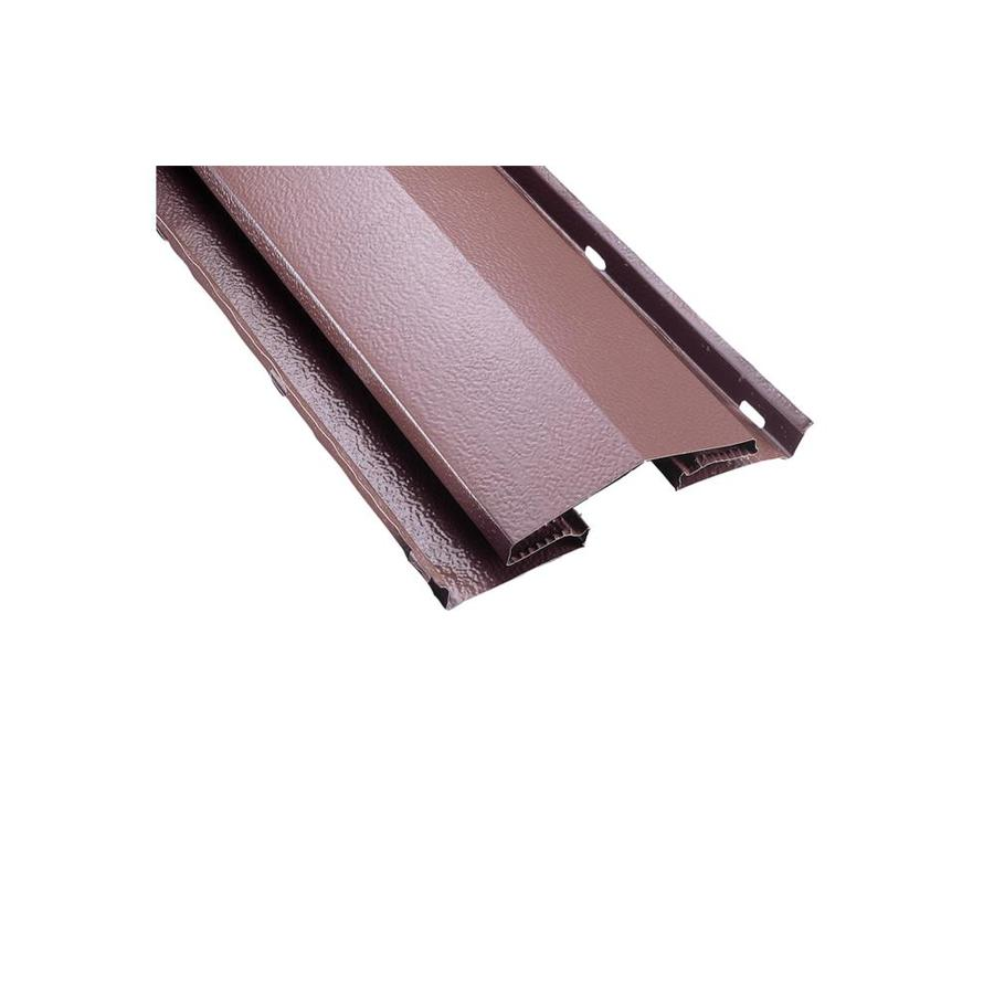 AIR VENT INC. 8.5-in x 96-in Brown Aluminum Stick Roof Ridge Vent