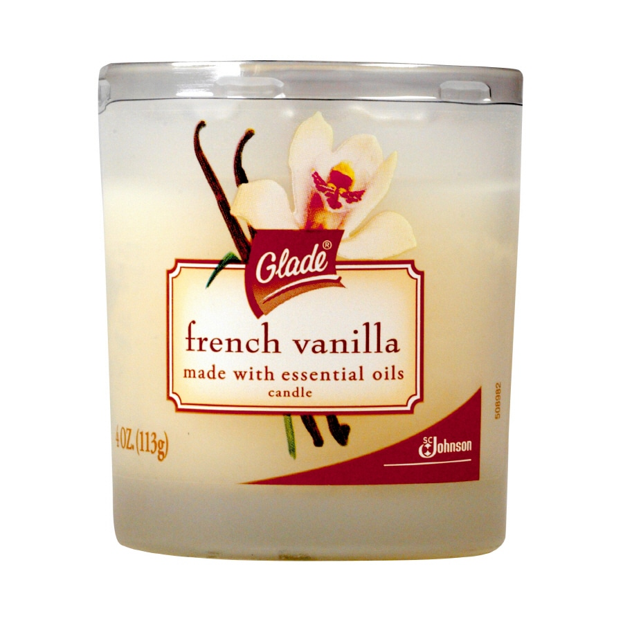 Glade 4 Oz. French Vanilla Candle