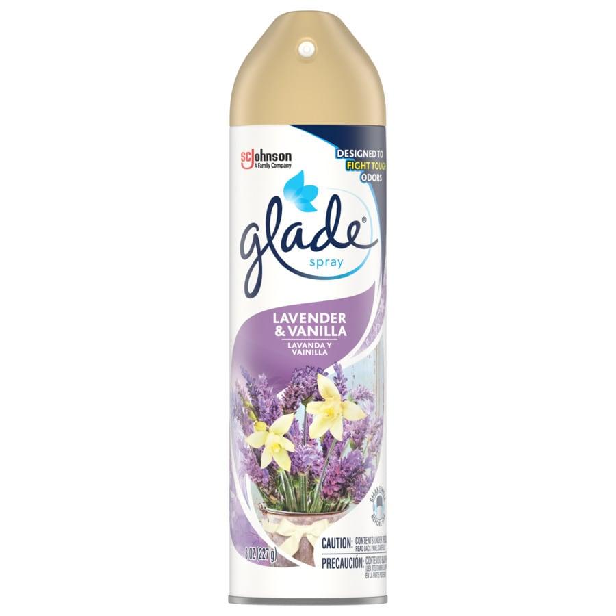 Glade Lavender Vanilla Air Freshener Spray