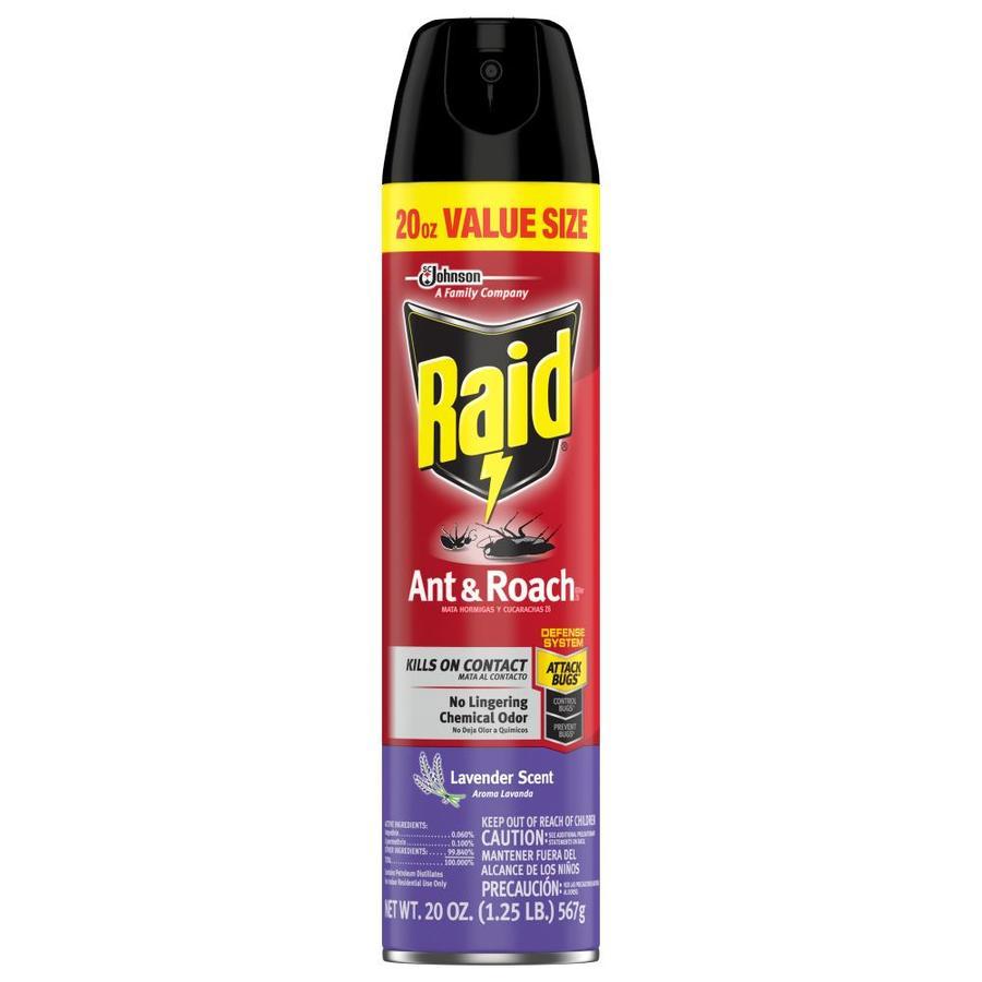 Raid 20-oz Ant and Roach Lavendar