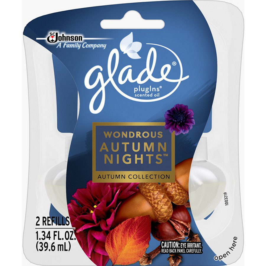 Glade 2-Pack Autumn Nights Refill