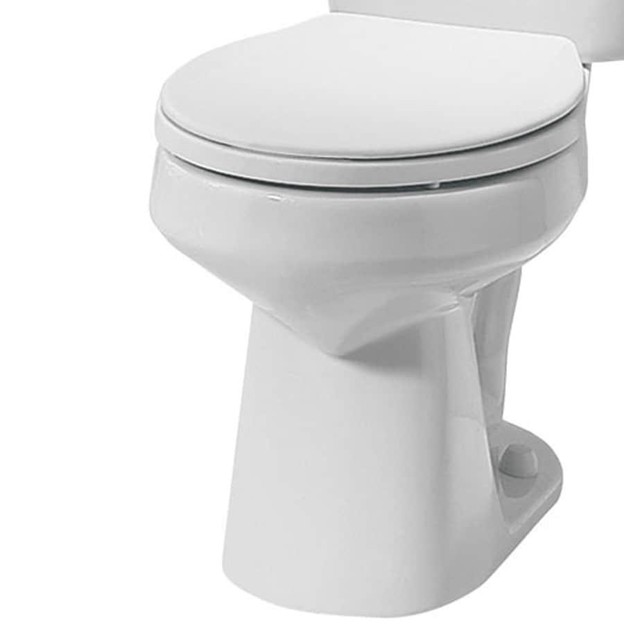 Mansfield Alto White Round Toilet Bowl