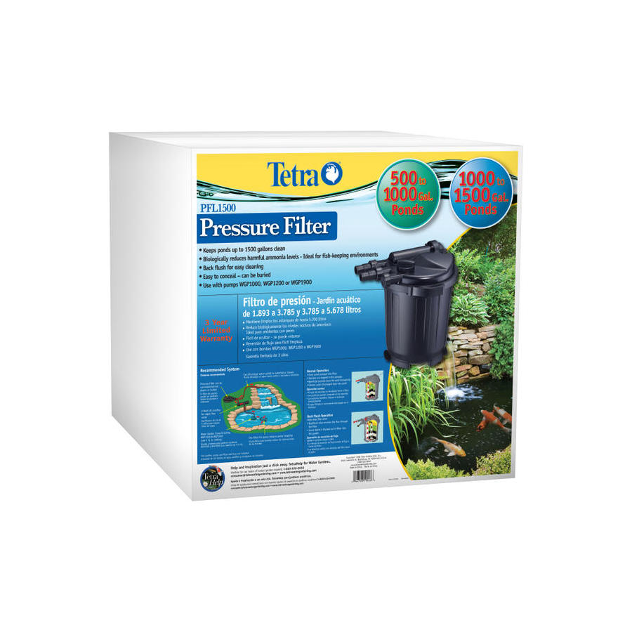 Shop tetra pressure pond filter at Lowes pond filter