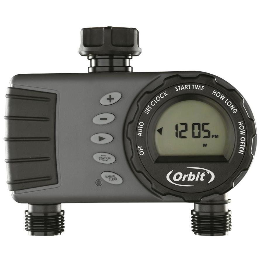 Shop Orbit 2 Outlet Digital Water Timer At Lowes Com
