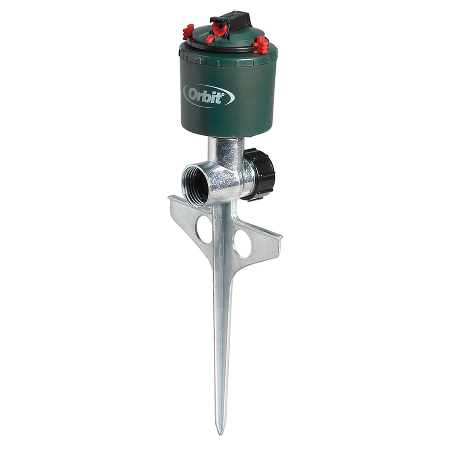 Shop Orbit 5000 Sq.-ft Rotating Spike Lawn Sprinkler at Lowes.com