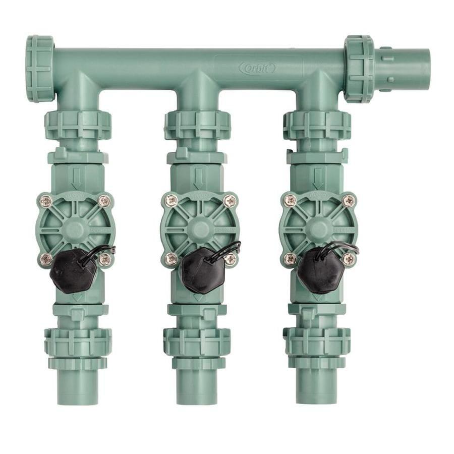 Orbit 3/4-in or 1-in Inline Preassembled Sprinkler Manifold