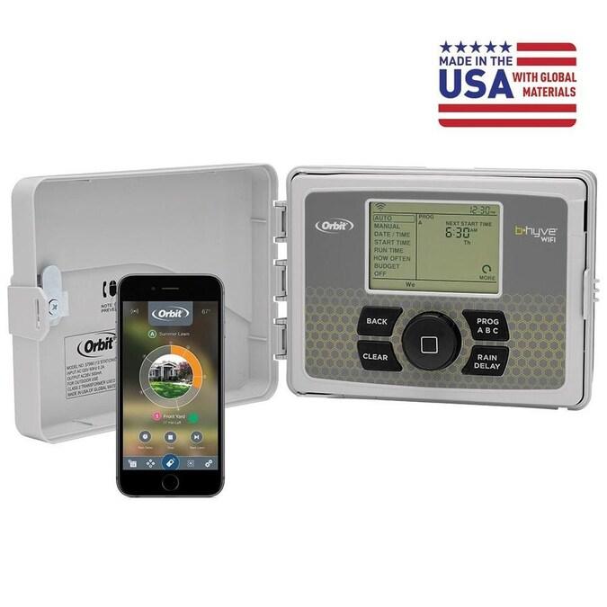 4 6 8 12 station NEW Orbit Easy Dial Sprinkler Timer Orbit B-hyve WiFi smart