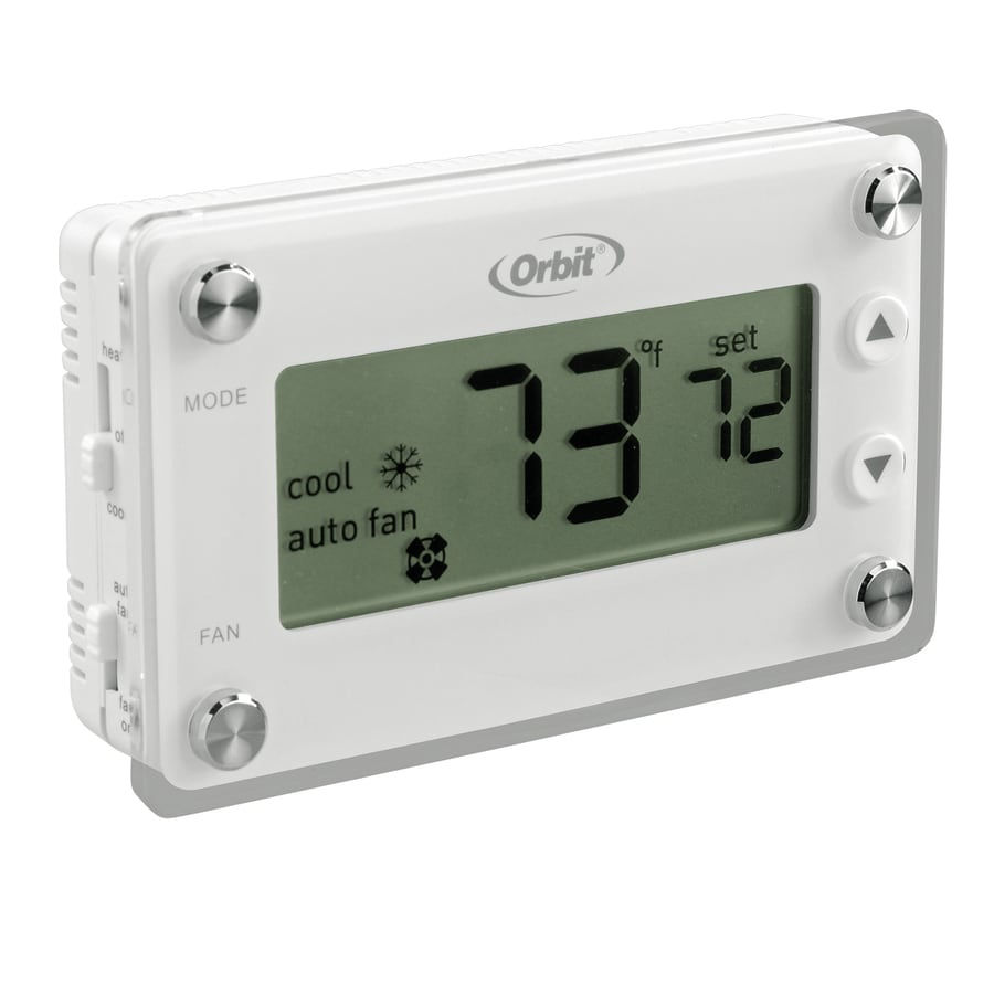 Orbit Clear Comfort Mechanical Non-Programmable Thermostat