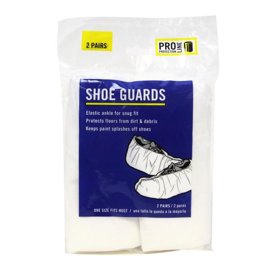Blue Hawk 2-Pack One Size Fits All Polypropylene Paint Protective Shoe Covers