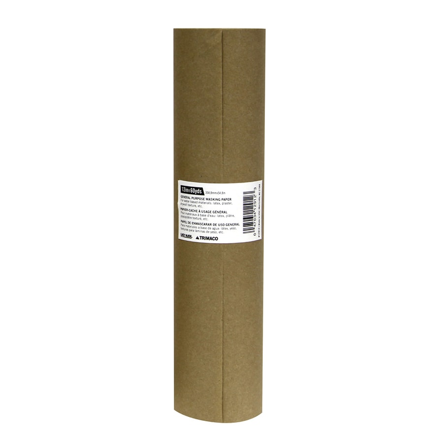 Trimaco 12.0-in x 180.0-ft Non-Adhesive Craft