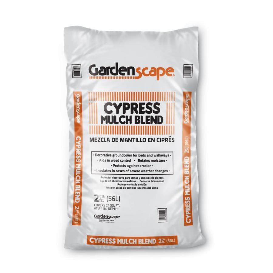 Gardenscape 2-cu ft Light Brown/Gold Shredded Cypress Blend Mulch