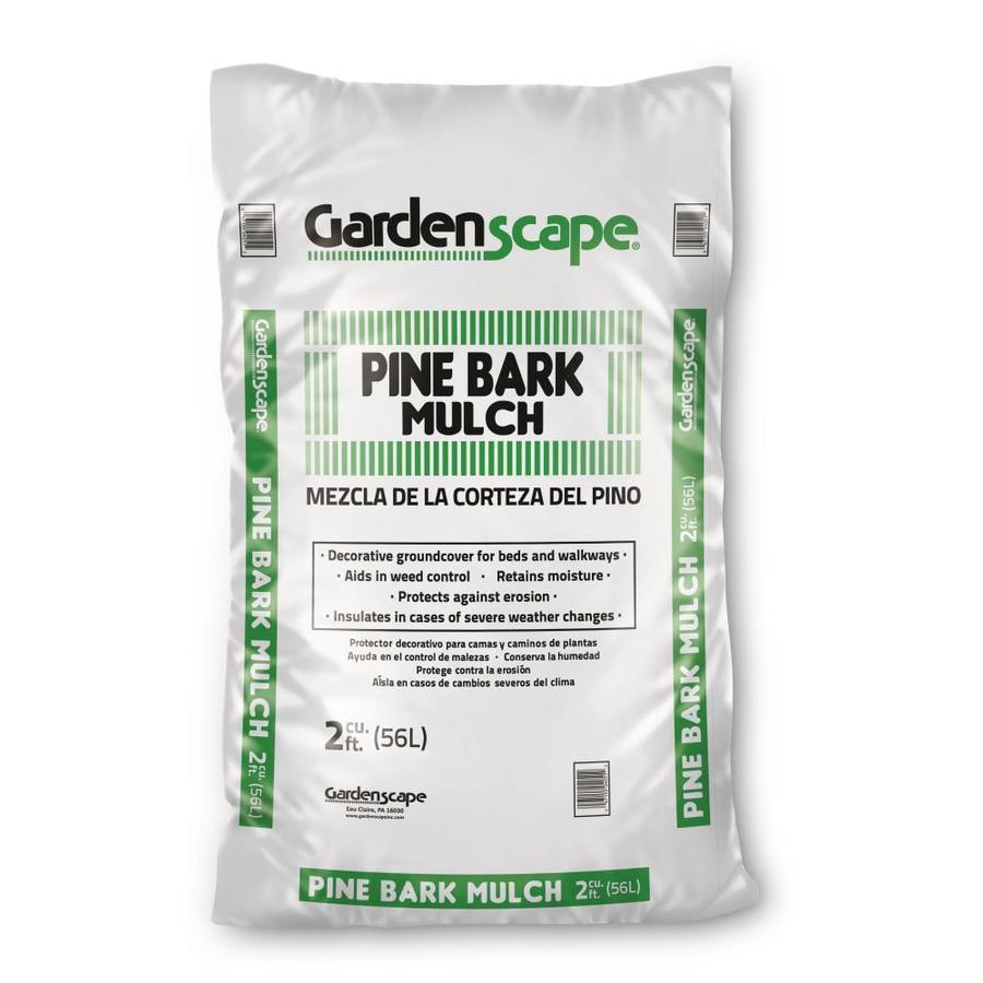 Gardenscape 2-cu ft Dark Brown Pine Mulch