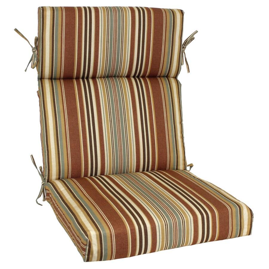 allen + roth 46-in L x 22-in W Tan Patio Chair Cushion