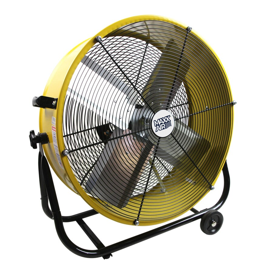 Shop Maxxair 24 In 2 Speed High Velocity Fan At Lowes Com