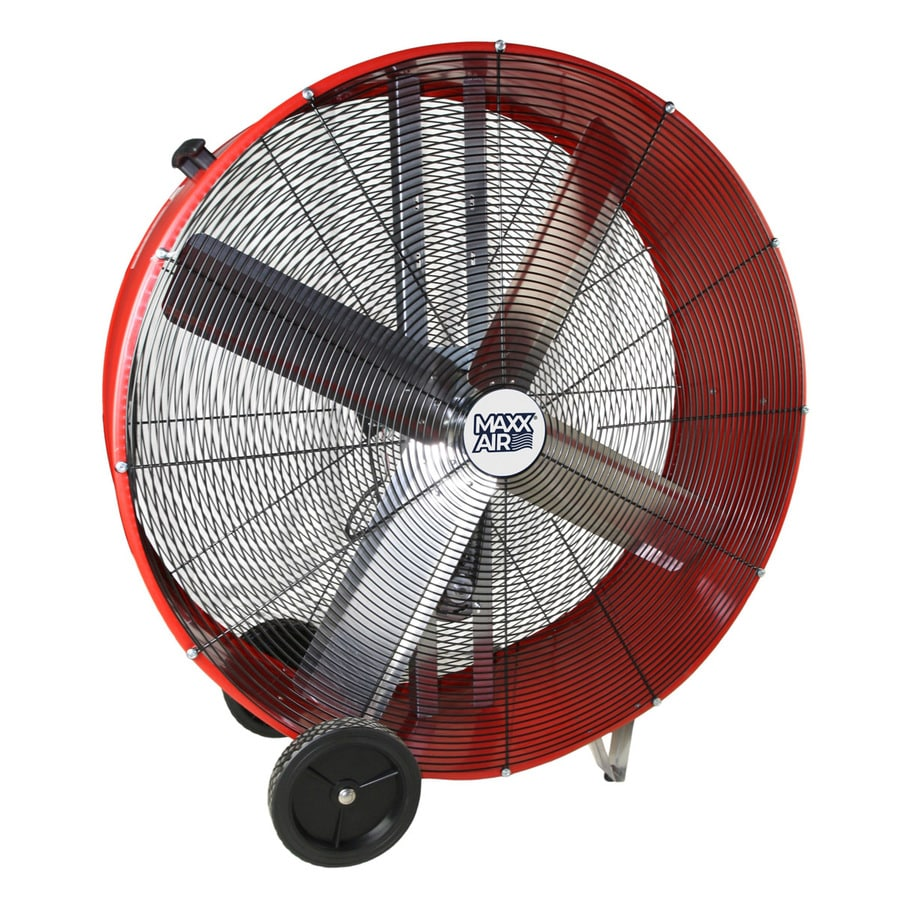 Shop Maxxair 42 In 2 Speed High Velocity Fan At Lowes Com