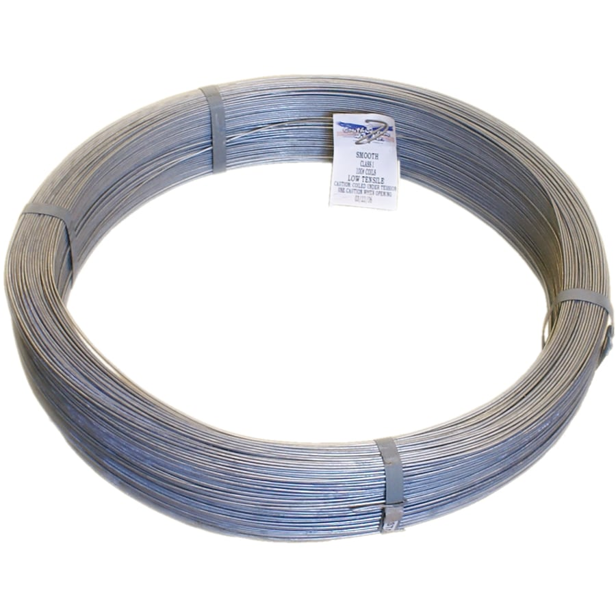 Vinyl Coated Steel Fence Tension Wire