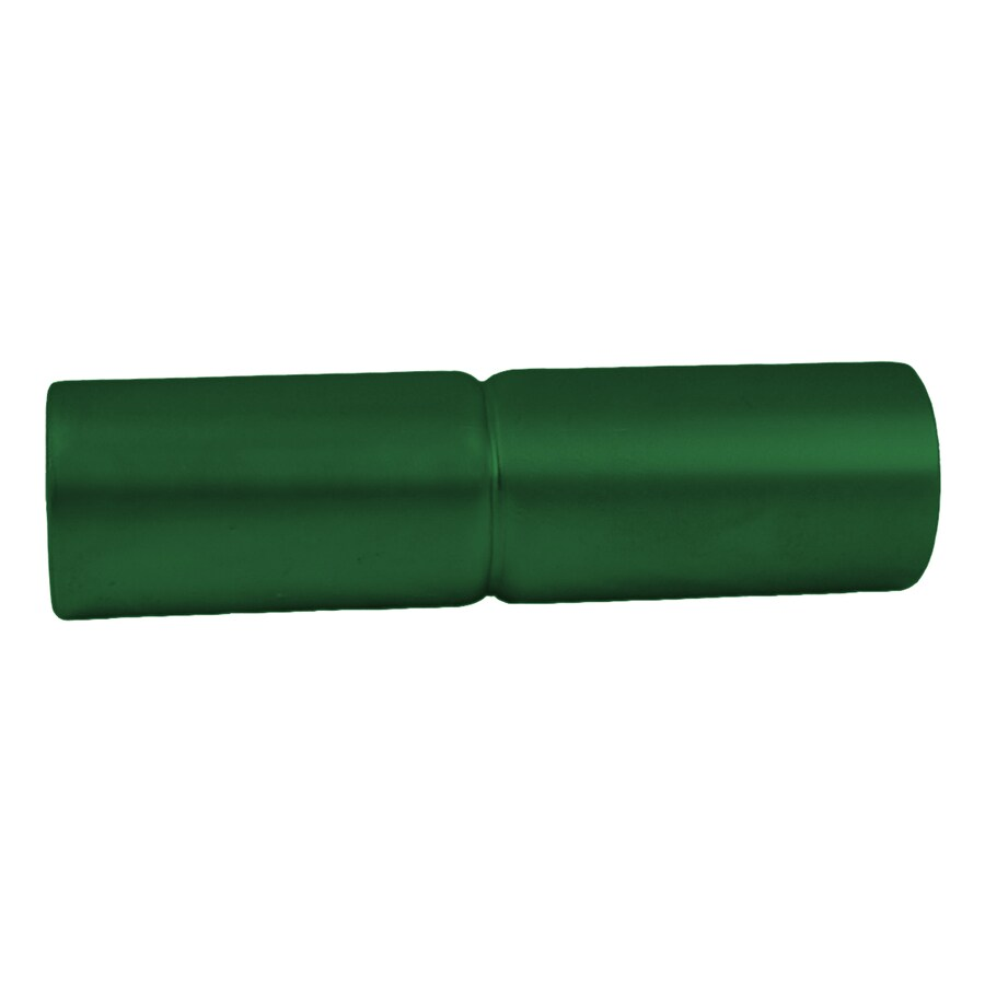 Green Steel Post Sleeve (Fits Common Post Measurement: 1.37-in; Actual: 1.37-in x 6-in x 1.37-in)