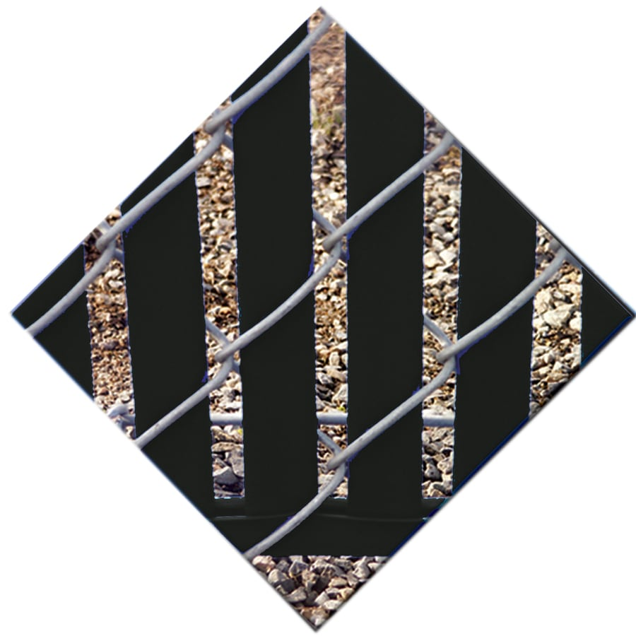 78-Pack Black Chain-Link Fence Privacy Slats (Fits Common Fence Height: 7-ft; Actual: 0.1-ft x 6.71-ft)