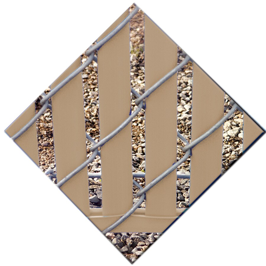 78-Pack Beige Chain-Link Fence Privacy Slats (Fits Common Fence Height: 4-ft; Actual: 0.1-ft x 3.71-ft)