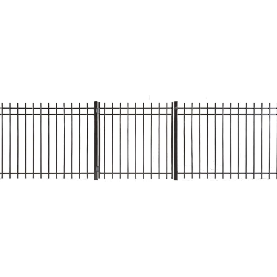 Kent Powder Coated Steel Decorative Fence Gate (Common: 3-ft x 3-ft; Actual: 2.66-ft x 2.83-ft)