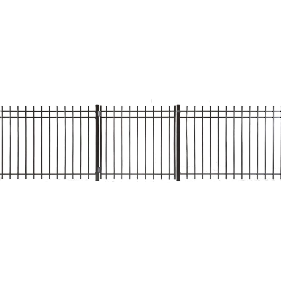 Kent Powder Coated Steel Decorative Fence Gate (Common: 4-ft x 3-ft; Actual: 3.66-ft x 2.83-ft)