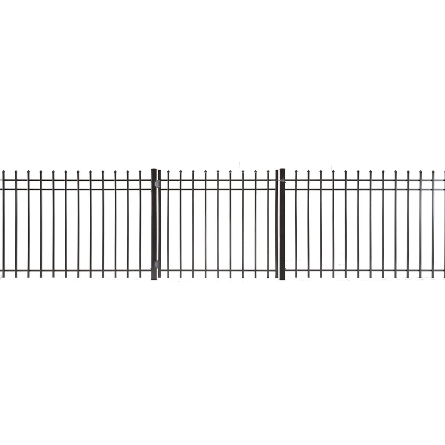 Lafayette Powder Coated Steel Decorative Fence Gate (Common: 3-ft x 3-ft; Actual: 2.66-ft x 2.83-ft)