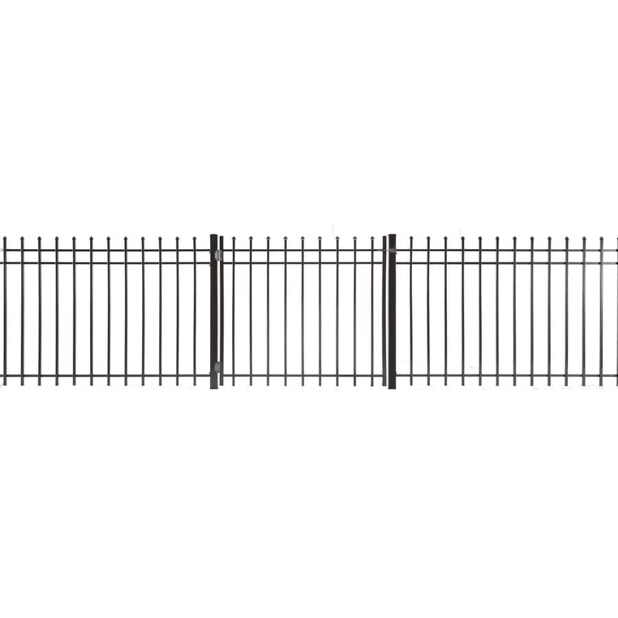 Lafayette Powder Coated Steel Decorative Fence Gate (Common: 4-ft x 4-ft; Actual: 3.66-ft x 3.83-ft)