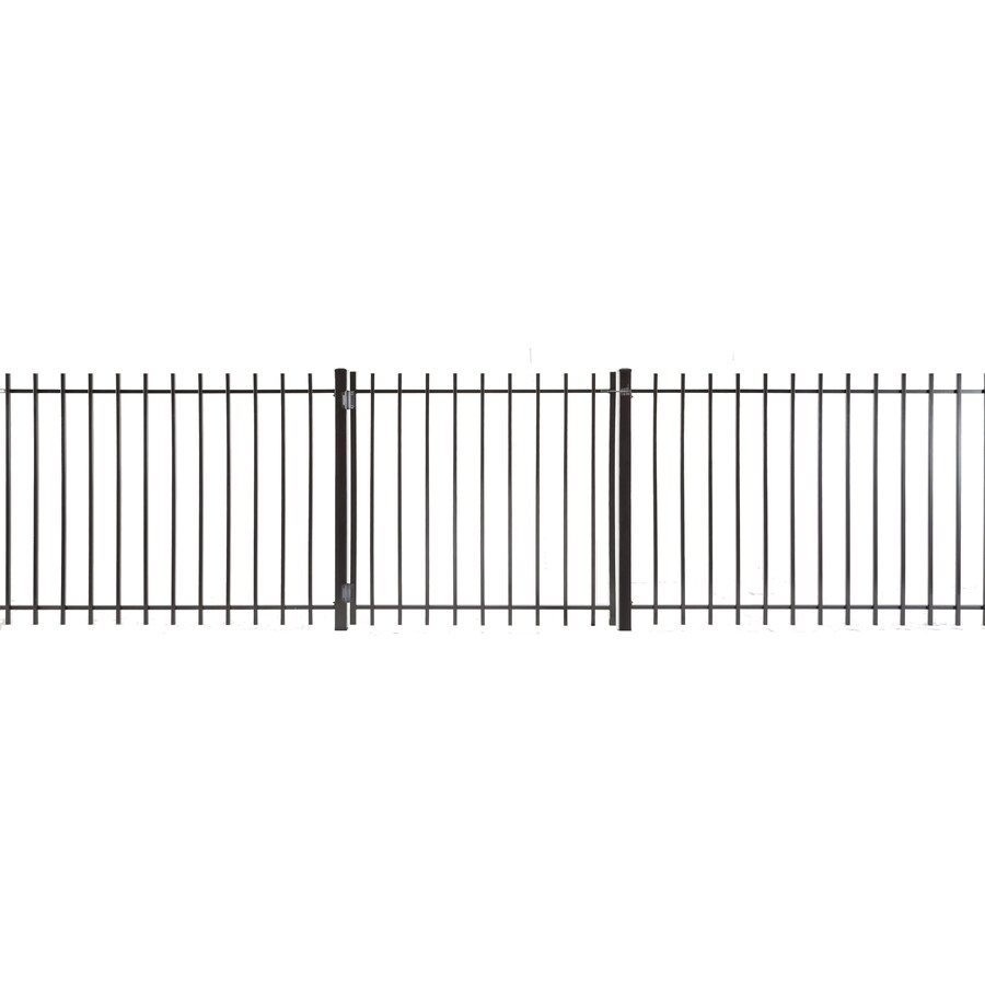 Kent Powder Coated Steel Decorative Fence Gate (Common: 3.5-ft x 3-ft; Actual: 3.16-ft x 2.83-ft)