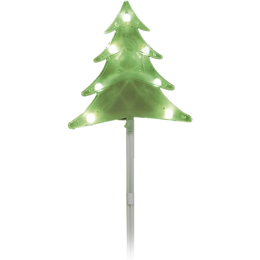 Sienna 5-Marker Green Incandescent Plug-In Christmas Tree Pathway Markers