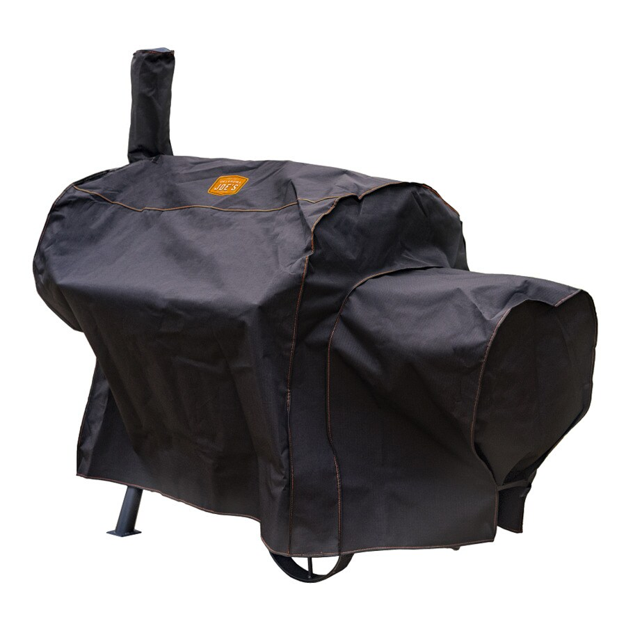 Char-Broil Longhorn Polyester 66.5-in Horizontal Smoker Cover
