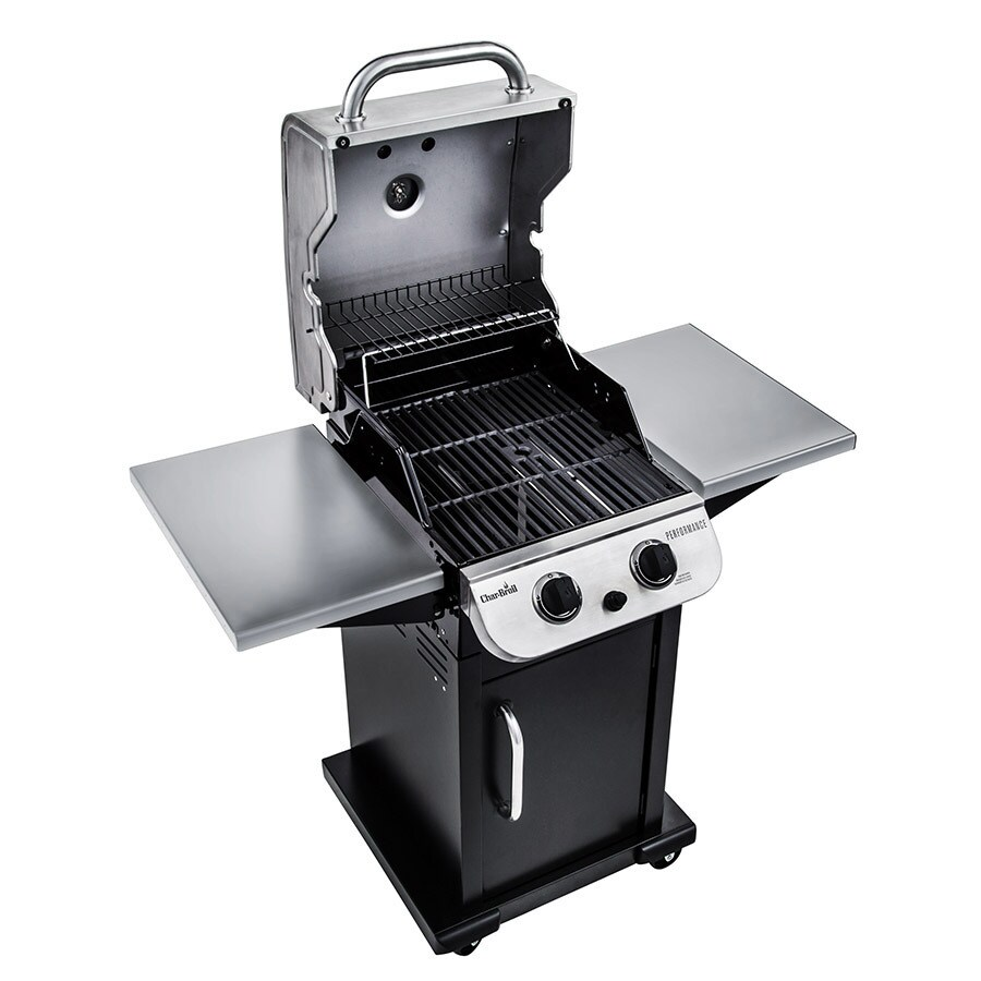 Char-Broil Performance Black and Stainless Steel 5-Burner Liquid Propane  Gas Grill