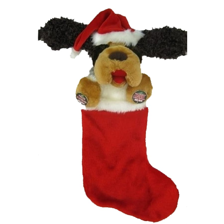 Holiday Living 23-in Musical Christmas Stocking