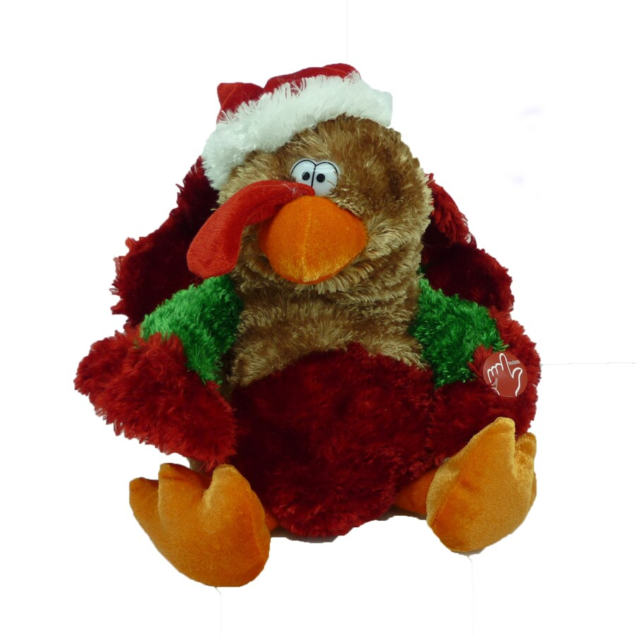 Holiday Living Christmas Polyester Musical Animated Turkey