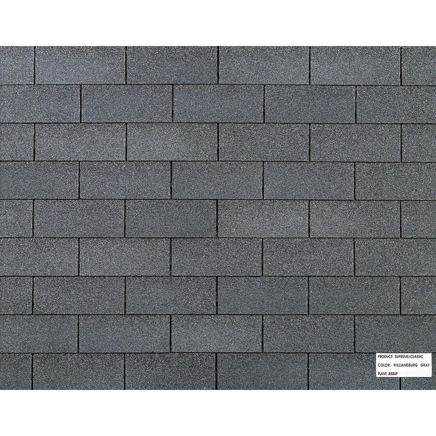 Shop Owens Corning Classic Ft Williamsburg Gray
