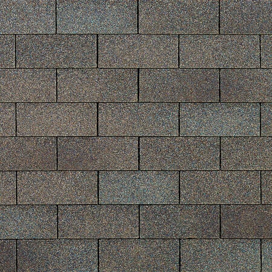 Owens Corning Supreme 33.3-sq ft Driftwood Traditional 3-Tab Roof Shingles