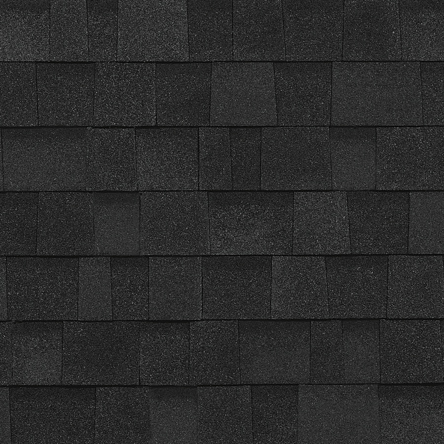 Owens Corning Oakridge 32.8 Na-Sq Ft Onyx Black Laminated Architectural 0-Tab Roof Shingles