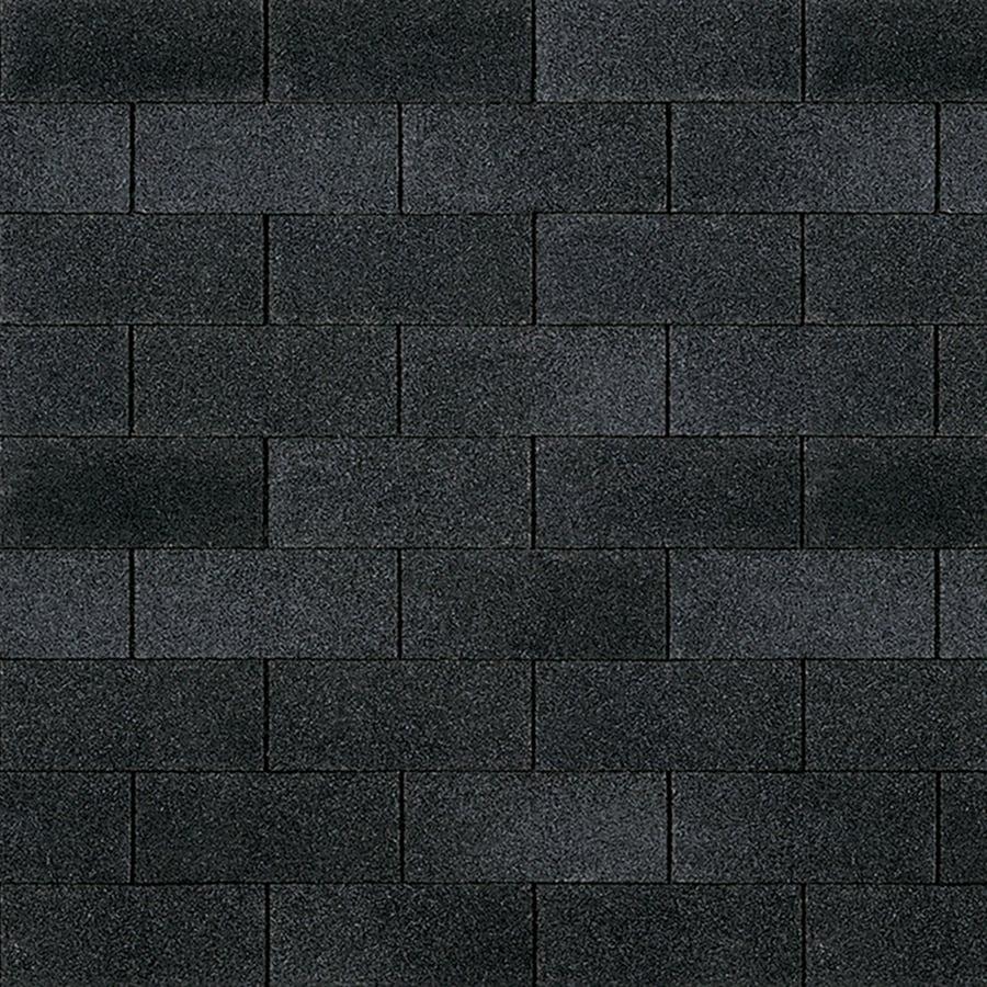 Owens Corning Supreme 33.3-sq ft Onyx Black Traditional 3-Tab Roof Shingles