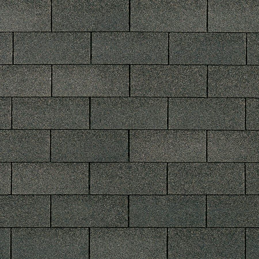 Owens Corning Supreme 33.3-sq ft Williamsburg Gray Traditional 3-Tab Roof Shingles