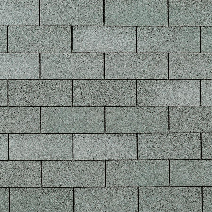 Owens Corning Supreme 33.33-sq ft Aspen Gray Traditional 3-Tab Roof Shingles