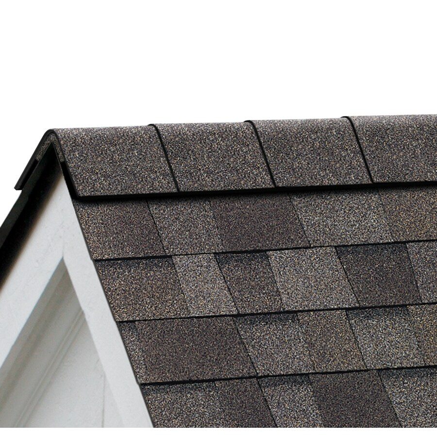 Owens Corning Perforated 33.75-lin ft Driftwood Hip and Ridge Roof Shingles