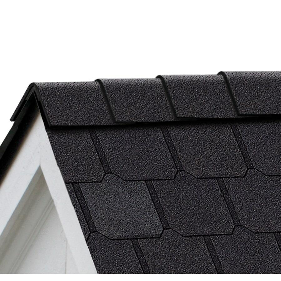 Owens Corning Berkshire 21.33-sq ft Canterbury Black Hip and Ridge Roof Shingles