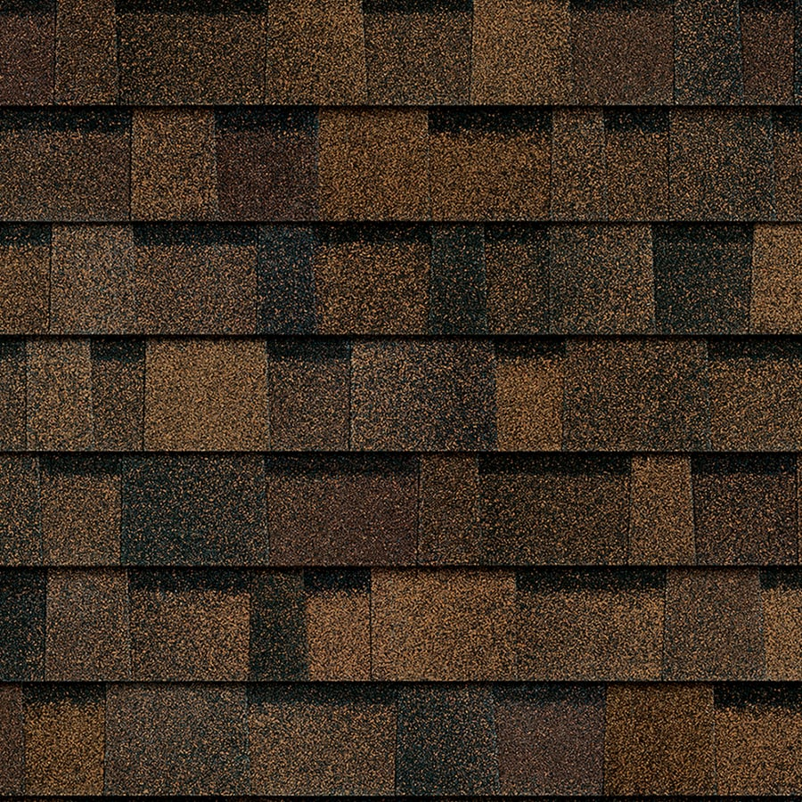 Owens Corning 24.6-sq ft Brownwood Laminated Architectural Roof Shingles