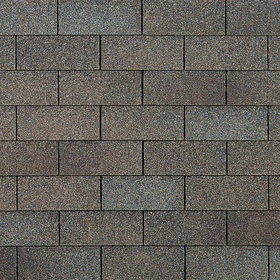 Owens Corning Supreme 33.33-sq ft Driftwood Traditional 3-Tab Roof Shingles