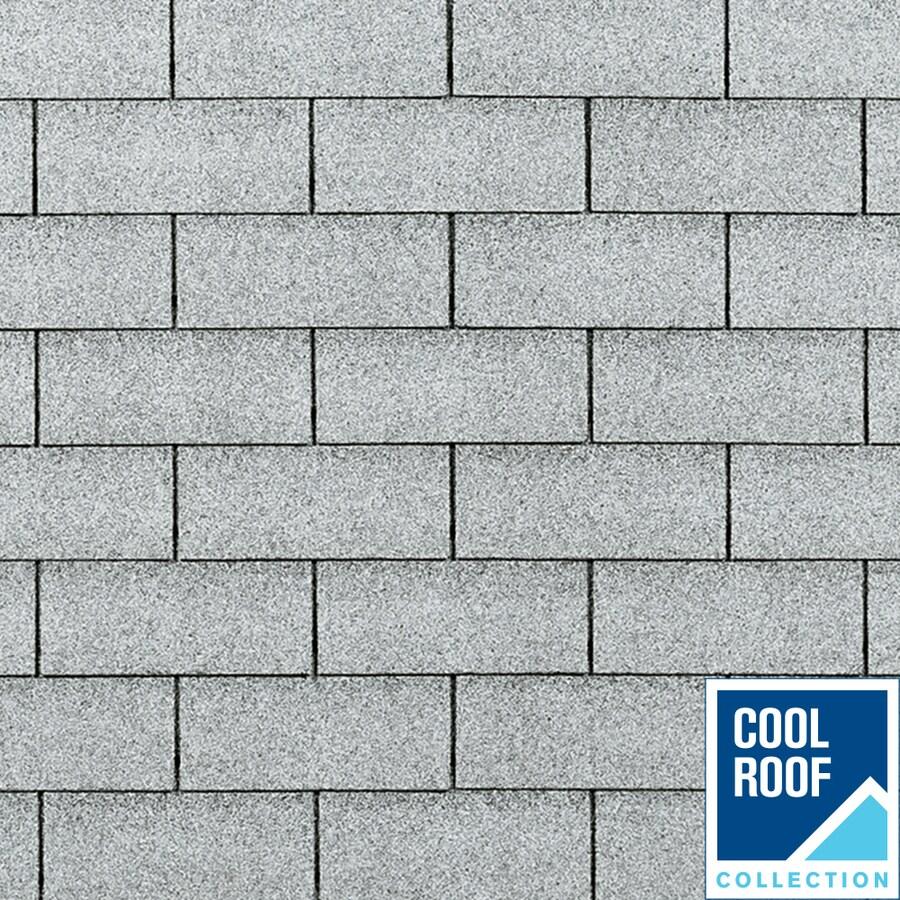 Owens Corning Supreme 33.33-sq ft Shasta White Traditional 3-Tab Roof Shingles