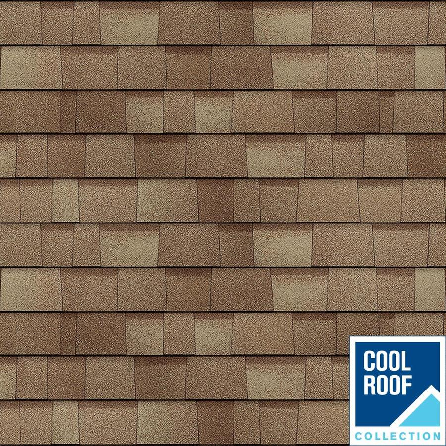 Owens Corning Duration Premium 24.6-sq ft Frosted Oak Laminated Architectural Roof Shingles