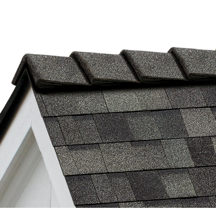 Owens Corning DecoRidge 20-lin ft Estate Gray Hip and Ridge Roof Shingles